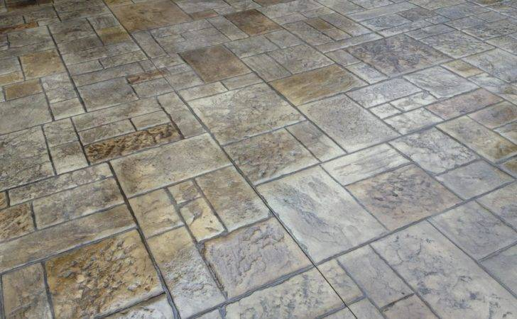 Stamped Concrete Patio Here Patterns