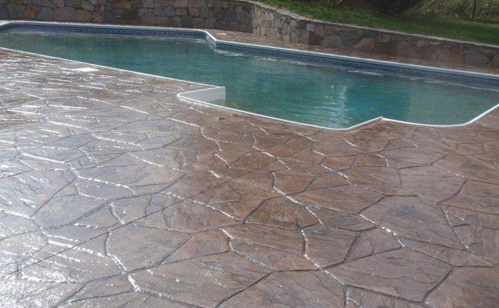 Stamped Concrete Patio Ideas Youtube