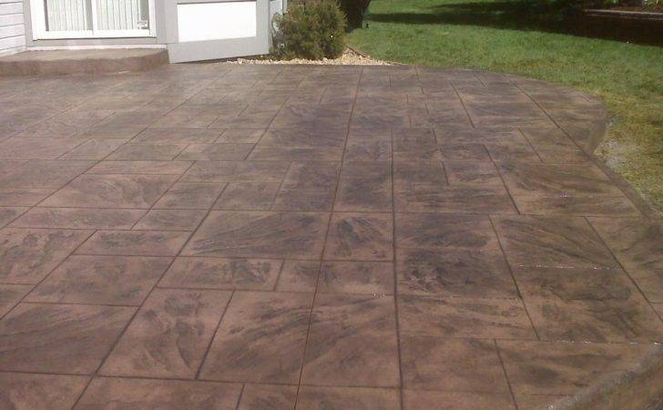 Stamped Concrete Patios Patio Ideas Your Backyard