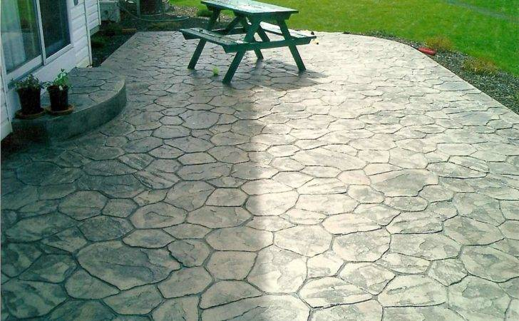 Stamped Concrete Patterns Affordable Choice Exteriors