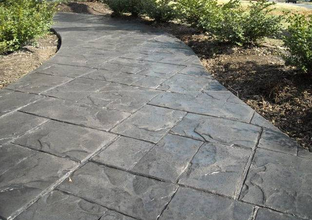 Stamped Concrete Photos Example Provide