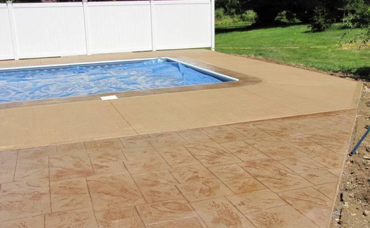 Stamped Concrete Pool Decks Evolution