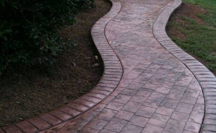 Stamped Concrete Related Keywords Suggestions Cobblestone