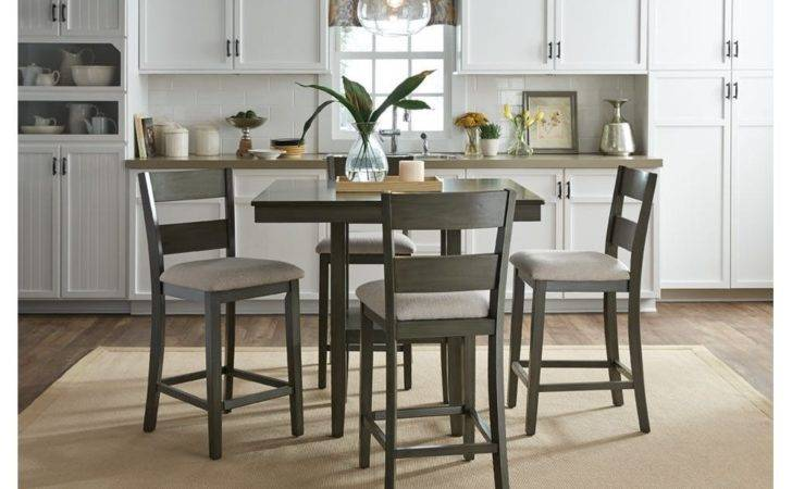 Standard Furniture Dining Room Counter Height Table Chairs
