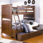 Standard Trundle Bed Tucks Secondary Below Main One