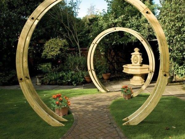 Standing Flower Circle Pergolas Garden Structures