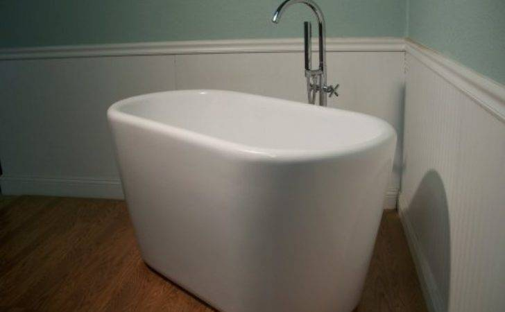 Standing Soaking Tub Small Deep Tubs