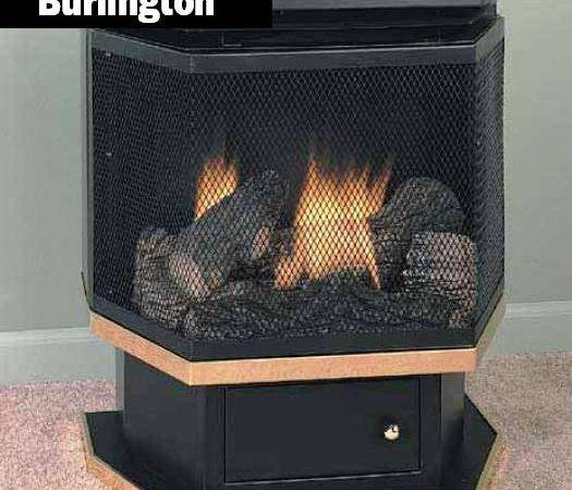 Standing Ventless Gas Fireplace Comfort Glow Vent