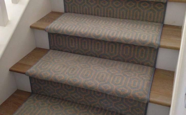 Stanton Atelier Miro Ocean Stair Runner Hemphill Rugs Carpets