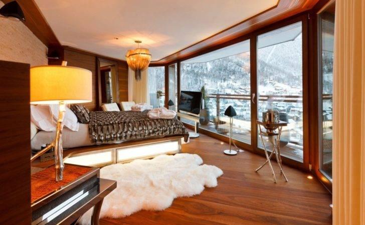 Star Luxury Mountain Home Amazing Interiors Swiss Alps