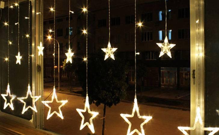 Stars Christmas Fairy String Lights Window Display Led Ebay