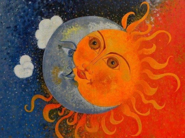 Stars Sun Moon Skyscapes