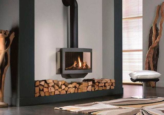 Stealth Balanced Flue Gas Fireplace Stove Modern Freestanding Stoves