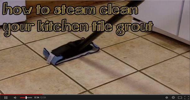 Steam Clean Grout Renew