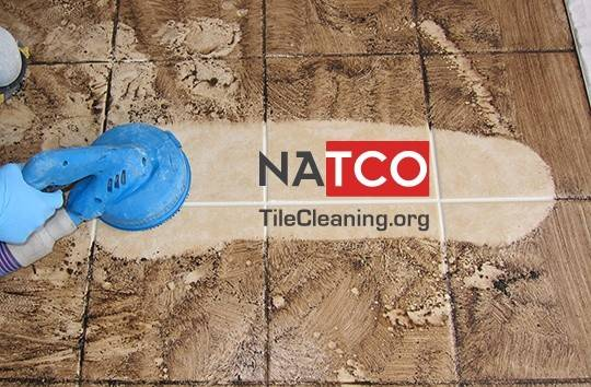 Steam Cleaning Ceramic Tile Grout Pint