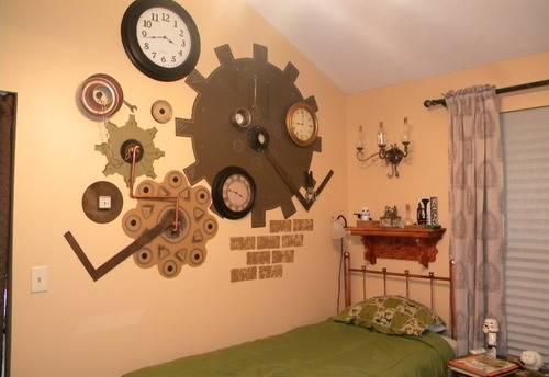 Steampunk Bedroom Decor Ideas Best Paint Colors