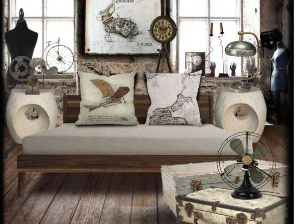 Steampunk Bedroom Polyvore