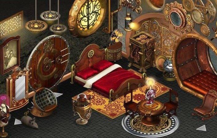 Steampunk Bedroom Room Design Pinterest