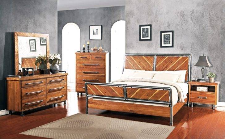 Steampunk Collection Queen Bedroom Group Del Sol Furniture