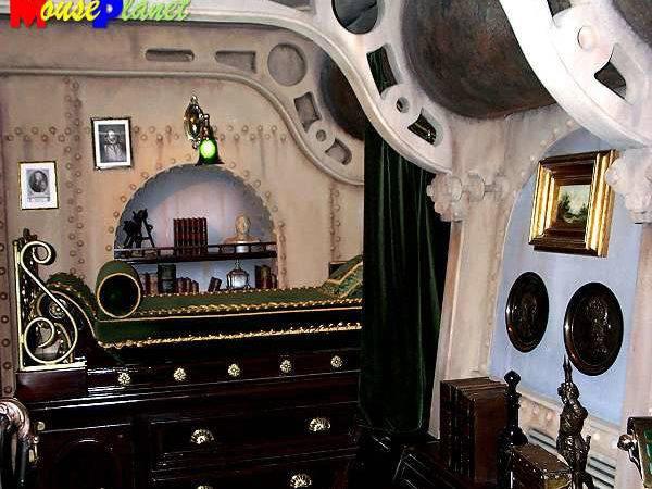 Steampunk Home Interior Nautilus