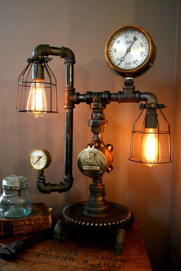 Steampunk Lamp Gorgeous Lamps