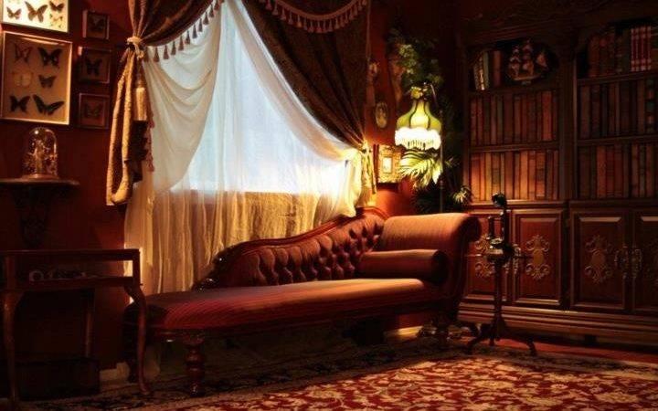 Steampunk Living Room Kato Decor Ideas Interior