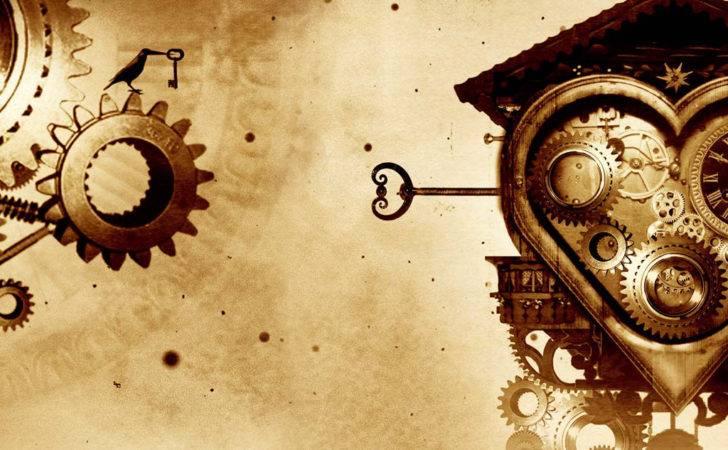 Steampunk Machine Hearts