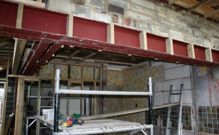 Steel Beams House Extension