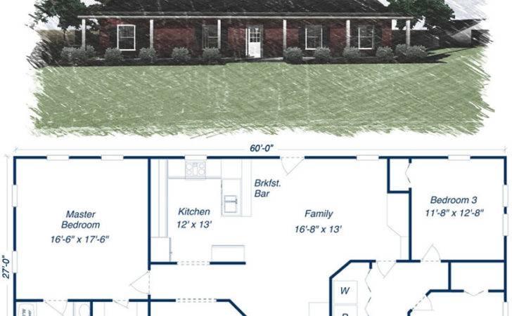 Steel Building Pinterest Kit Homes Floor Plans