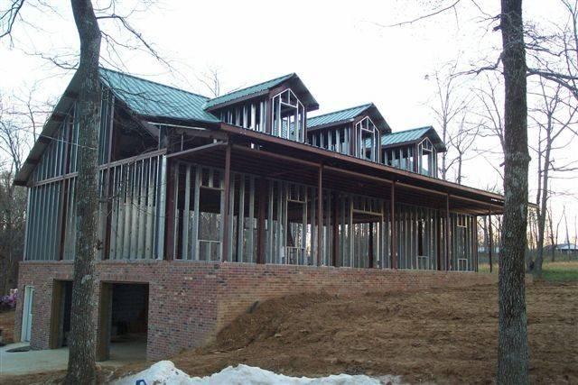 Steel Frame Cottage House Plans Metal Building