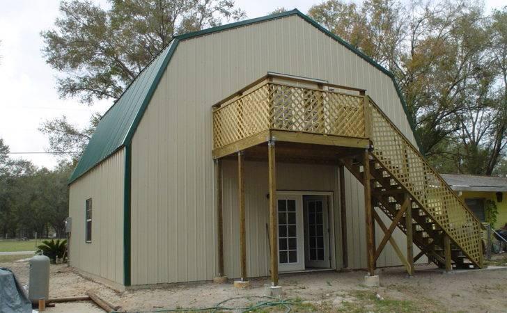 Steel Frame Gambrel Type Homes Starting
