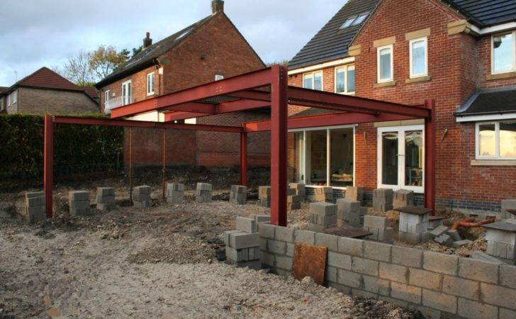 Steel Frame Place Transform Architects House Extension