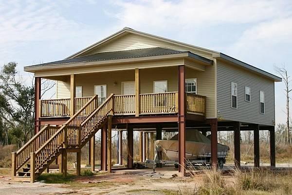 Steel Frame Prefab House Withstood Hurricane Ike Metal