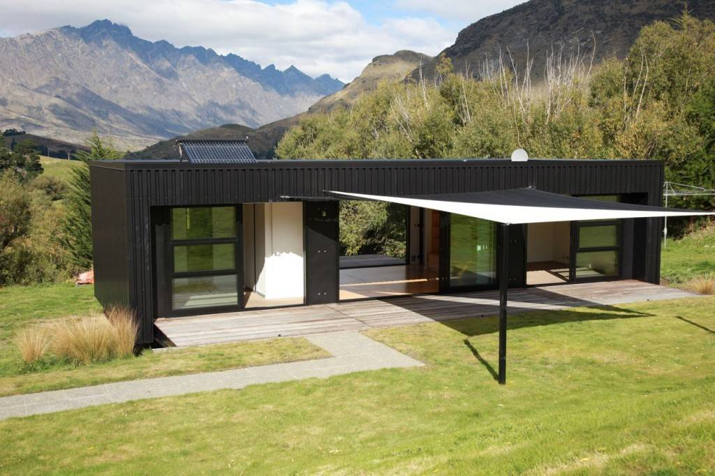 Steel Frame Transportable Prefab Home New Zealand Modern