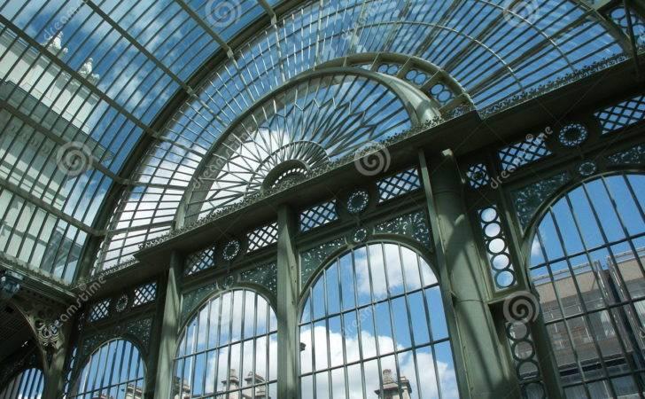 Steel Glass Structure Theatre Interior Covent Garden London