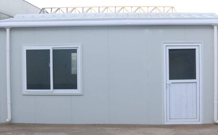 Steel Prefab Home Invisible Columns Container House