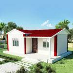 Steel Prefabricated Modular Homes Yzf Container House