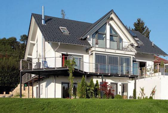 Steel Prefabricated Villa Construction Green Modular Homes