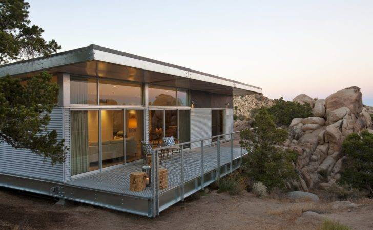 Steel Prefabs Both Modern Practical Dwell