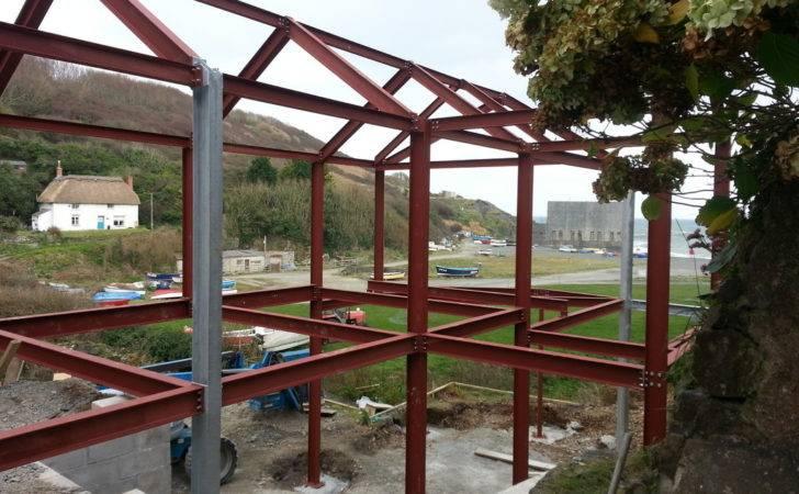 Steel Structures Cornwall Devon Erecting