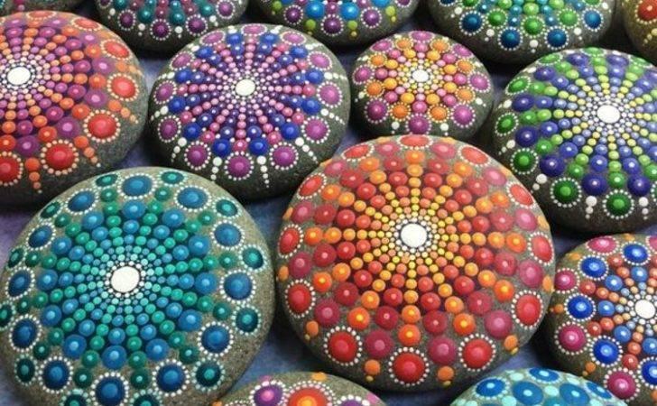 Steine Bemalen Ideen Originelles Basteln Mit Steinen