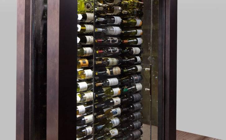 Stellar Portable Glass Wine Cellar Blue Grouse