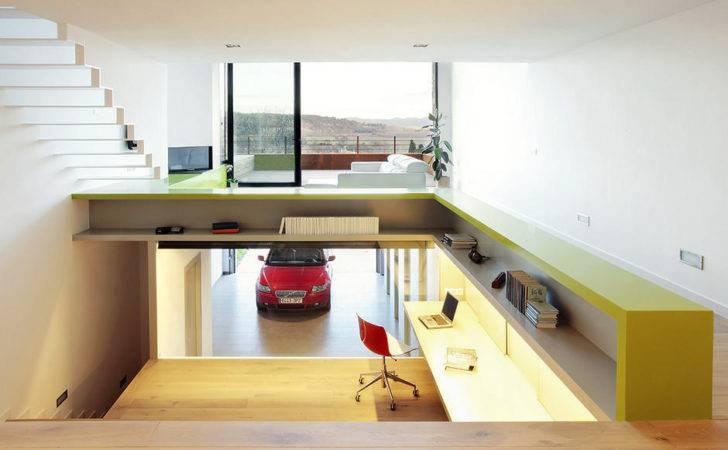Step Apt Office Garage Interior Design Ideas