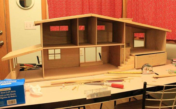 Steps Build Diy Dollhouse Building Scratch