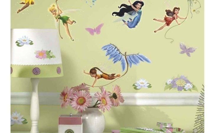 Sticker Disney Tinkerbell Fairies Children Room Decor New Ebay