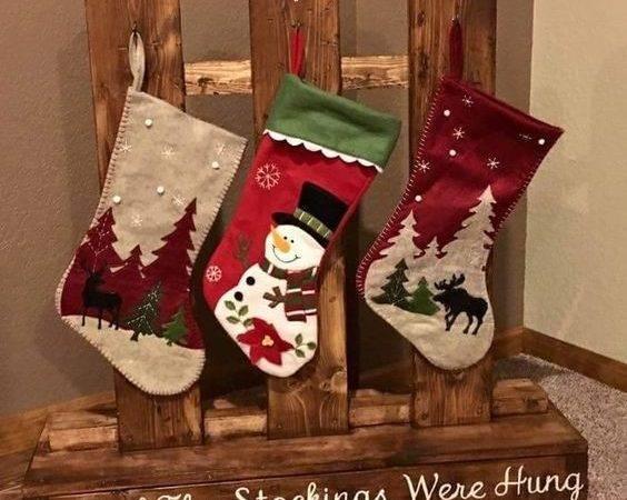 Stocking Were Hung Crafts Woodwork Pinterest