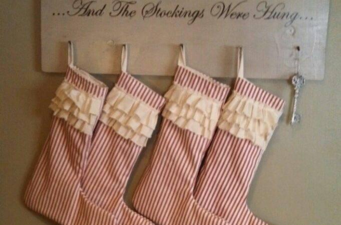 Stockings Were Hung Stocking Holder Tis Season
