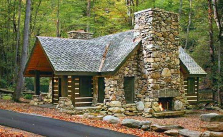 Stone Cabin Plans Tiny Cottage House