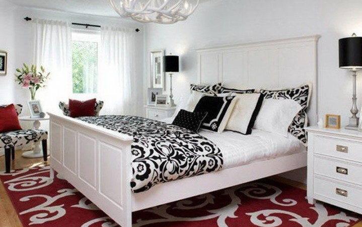 Stone Cottage Adventures Black White Red Bedroom Makeover