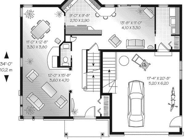 Stone Cottage House Plans Small Home Waterfront Lake Plan